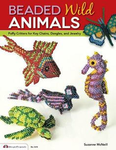 Beaded Wild Animals: Puffy Critters or Key Chains, Dangles, and Jewelry (Design Originals) by Suzanne McNeill CZT, http://www.amazon.com/dp/1574214489/ref=cm_sw_r_pi_dp_PoBDsb1Y1NE1E