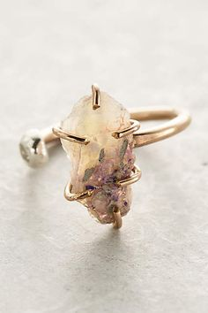 Seacoast Opal Ring - anthropologie.com