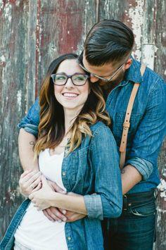 darling hipster engagement // Swanky Fine Art Weddings