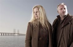Sofia Helin and Kim Bodnia in the Danish crime drama The Bridge.  Source: http://www.telegraph.co.uk/culture/tvandradio/tv-and-radio-reviews/9217143/The-Bridge-BBC-Four-review.html