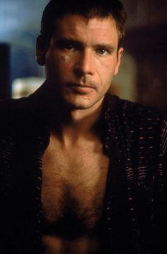 Harrison Ford in Blade Runner, 1982.