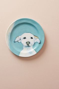 Slide View: 1: Dog-a-Day Dessert Plate
