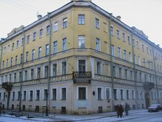 House where Dostoyevsky wrote 'Crime and Punishment', St. Petersburg