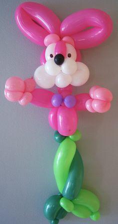 Mer Bunny - Easter Balloon Twisting