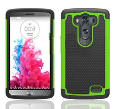 myLife Martian Green {Classy Textured Design} 2 Piece Hybrid Reflex Case for the LG G3 Smartphone (Outer Rubberized Fit On Protector Shell + Internal Silicone SECURE-Grip Bumper Gel) myLife Brand Products http://www.amazon.com/dp/B00NVNY8GA/ref=cm_sw_r_pi_dp_kQ8tub0T8PD8Y