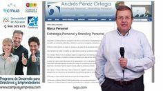 Marca Personal: propuesta de Andrés Pérez Ortega