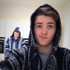 OMG Jack and Finn are wearing sweaters from guatemala.. or ones just like them:) ...i love their green eyes btw<3