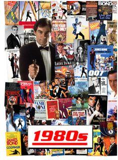 Six Decades of James Bond - The 1980s TIMOTHY DALTON