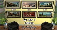 Mod The Sims - Far Cry 4 paintings (StandAlone object)