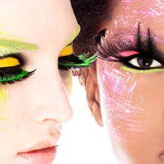eyelashes ...bold and bright
