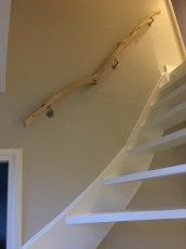 19942977_1448658538555421_8474731447306031420_o Interior Railings, Interior And Exterior, New Palace, Bois Diy, Stair Handrail, Stair Landing, Stairway To Heaven, Basement Remodeling, Stairways