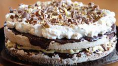Smash-kake kan lages i langpanne Baking Recipes, Cake Recipes, Snack Recipes, Dessert Recipes, Snacks, Pudding Desserts, No Bake Desserts, Bagan, Scones Ingredients