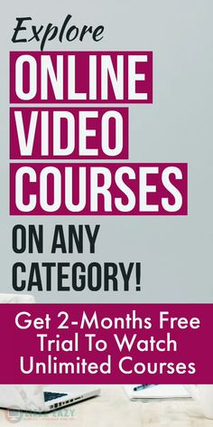 Want to watch Online Courses on any category? Then explore this Educational website that offers 2-month free trial plan for new members. With this trial, you can watch unlimited video courses without any restriction. #education #study #onlinecourses #courses #knowledge