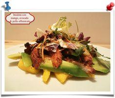 Imparare l'Arte della Cucina Quotidiana: Gordon Ramsay: insalata con mango, avocado & pollo...