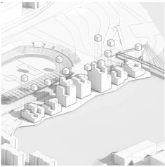 architecture diagram site plan _ BIG
