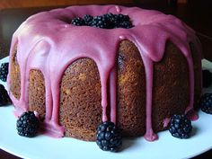 Blackberry Jam Cake