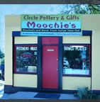 Moochie's Meatballs and Circle Pottery-Salt Lake City, UT.  A pottery store that evolved into a restaurant as well.  Sandwiches and such.  Gots to try the meatball sandwich with marinara!