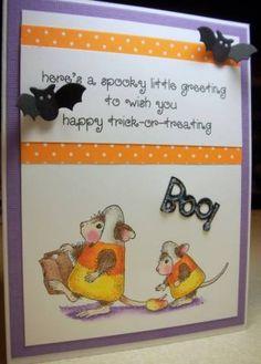 Splitcoaststampers FOOGallery - Spooky Greeting