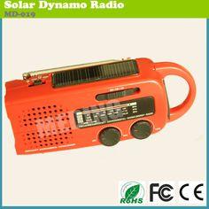 1.noaa weather radio  2.Charging cell phone  3.Solar panel,hand crank,siren,flashlight  4.Support dry battery