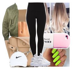 """"""""""" by msixo ❤ liked on Polyvore featuring Alexander Wang, Valfré, NIKE, Pieces and adidas Originals"""