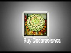 Ruy Decoraciones Tallado de Frutas y Verduras Mukimono el arte Gastronom...