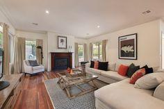 What a warm & cozy living room!  7 Wiringa Avenue Camberwell