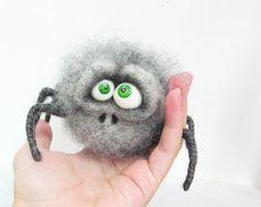 Filz Spielzeug - Puppe - Gefilzte Tiere - Collectible Dolls - einzigartige Spielzeug - Soft Skulptur - Nadel filzen - handgefertigte Spielwaren - Geschenk für sie fühlte                                                                                                                                                                                 Mehr