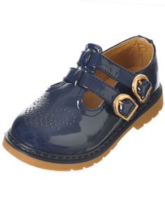 """Jumbo Coco Girls """"Villager"""" Mary Janes (Toddler Sizes 5 – 12) - Cookie's"""