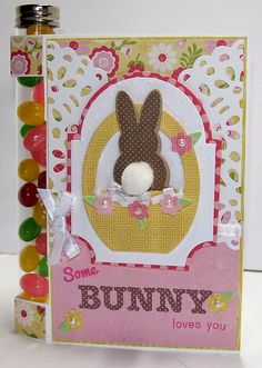 Beth-A-Palooza: Some Bunny Loves You Test Tube Cards With Two Tutorials