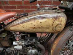 1928 Harley Davidson Single B Model Flathead - Rusty Knuckles - Motors and Music for True Grit Characters - Rock N' Roll, Country, Metal, Punk Rock