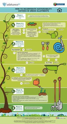 HOW TO INCORPORATE SUSTAINABILITY CRITERIA IN URBAN ALLOTMENTS
