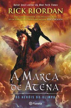 Livros Junior e Juvenil: A MARCA DE ATENA de Rick Riordan