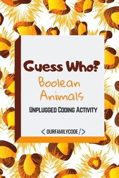 Guess the Animal Unplugged Boolean Coding Activity Guess the Animal Boolean Coding Activity Our Family Code Learn about boolean and comparison operators with this Guess. Kids Learning Activities, Spring Activities, Infant Activities, Teaching Kids, Toddler Crafts, Preschool Crafts, Fun Crafts, Crafts For Kids, Family Child Care