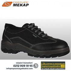 Mekap iş ayakkabısı 086-Tornado Siyah