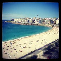 """See 381 photos and 19 tips from 3703 visitors to A Coruña. """"Pretty sea-front and old city centre. Old City, Best Cities, Great Friends, Study Abroad, Four Square, Travel Destinations, Spanish, Places To Visit, Europe"""