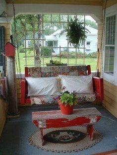 Rustic Farmhouse Style Porch Decorating Ideas (25)