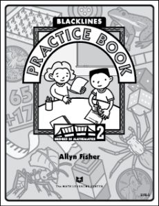 Free printable blackline master printable math practice book for grade 2.