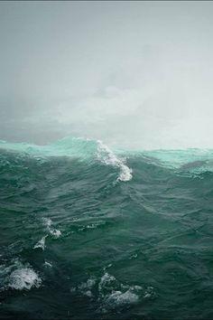 Inspired by the ocean: green surf. No Wave, Sea And Ocean, Ocean Beach, Ocean Waves, Water Waves, Big Waves, Laguna Beach, Stürmische See, Stormy Sea