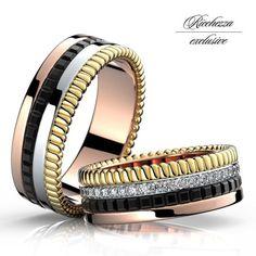 Эксклюзивные обручальные кольца ricchezza. Вес пары 16.5 грамм.... #wedding #weddings