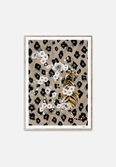 Tiger Print | Paper Collective – LoversLand Creative Studio, Creative Director, Decorating A New Home, Danish Fashion, Tiger Art, Industrial Style, New Product, Print Paper, Concept