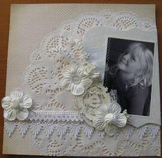 Blomsterbox: Hvidt lo