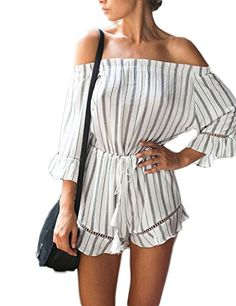 d634b8605339 Jumpsuit Collection from Amazon  JumpsuitCollection Striped Playsuit