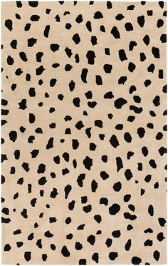 Shop the Rug - Color: Beige, Black; Size: x by Artistic Weavers. Made from Wool in India. This Hand Tufted Beige, Black rug has a pile_height, perfect for a soft yet durable addition to your home. Animal Print Wallpaper, Animal Print Rug, Cheetah Wallpaper, Beige Wallpaper, Cute Backgrounds, Cute Wallpapers, Trendy Wallpaper, Photo Wall Collage, Picture Wall