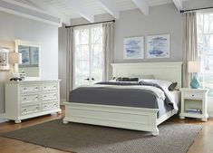 online shopping for Dover White Queen Bed; Night Stand & Chest Home Styles from top store. See new offer for Dover White Queen Bed; Night Stand & Chest Home Styles White Nightstand, Dresser With Mirror, Queen Bedroom, Bedroom Sets, Bedroom Decor, Master Bedroom, Bedroom Drawers, Ikea Bedroom, Bedroom Lighting