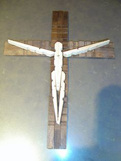 clothespin cross - Google zoeken