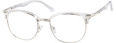 Translucent Browline Glasses 7810723