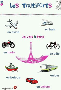 Les transports #french ~