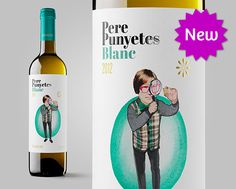 Pere Punyetes Blanc, Cava Varias #penedes #design #packaging #spanishwine