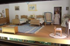 My personal pictures from the Smithsonian dollhouse, just fabulous.