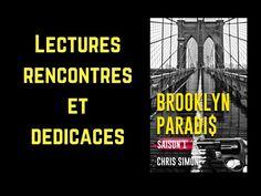 Brooklyn Paradis : prochaines lectures, rencontres et dédicaces